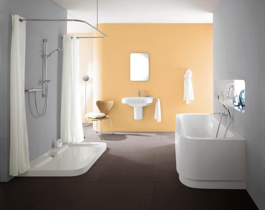 hansgrohe douchesets croma 100 badset vario porter 39 s met doucheslang 125 cm 27592000. Black Bedroom Furniture Sets. Home Design Ideas
