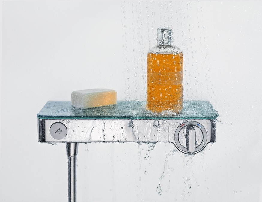 ShowerTablet Select Shower mixers: two-handle, 1 outlet, Chrome ...