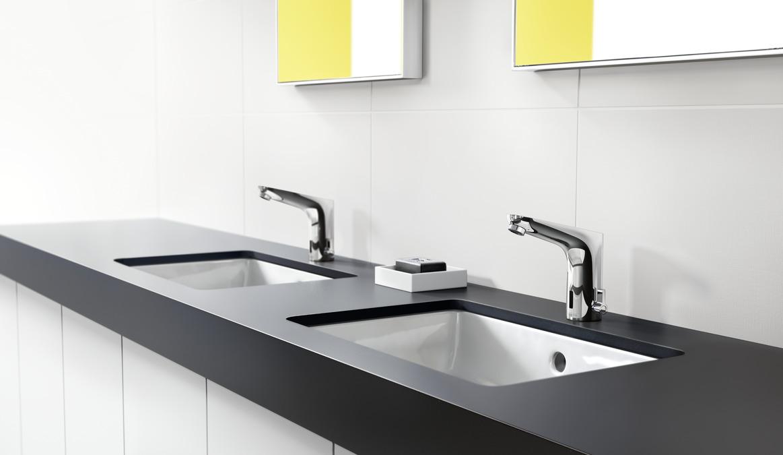 Focus grifer a de lavabo cromo 31171000 for Pilas de lavabo