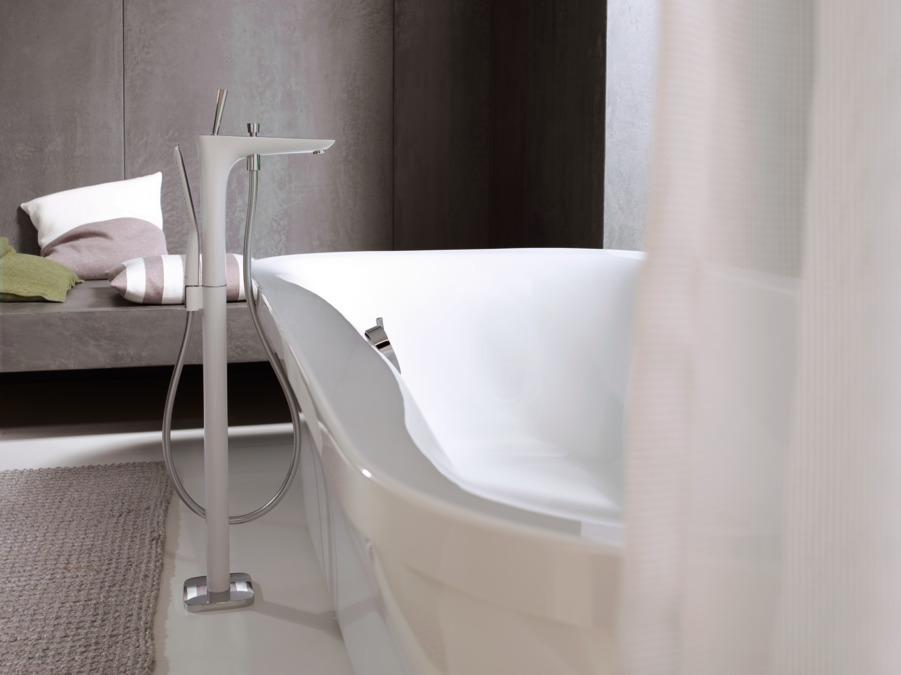 puravida wannenarmaturen 2 verbraucher chrom 15473000. Black Bedroom Furniture Sets. Home Design Ideas