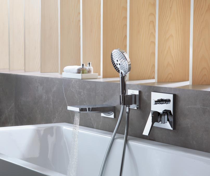 HG Metropol shower mixer conc.fs Zh.chr.