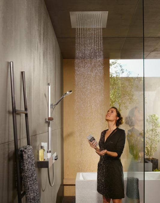 hansgrohe overhead showers raindance e 1 spray mode 26252000. Black Bedroom Furniture Sets. Home Design Ideas