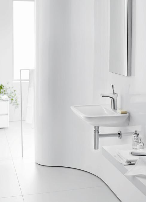 puravida waschtischmischer wei chrom 15075400. Black Bedroom Furniture Sets. Home Design Ideas