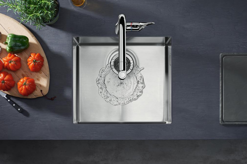 hansgrohe mitigeurs de cuisine m71 m7116 h320 mitigeur. Black Bedroom Furniture Sets. Home Design Ideas