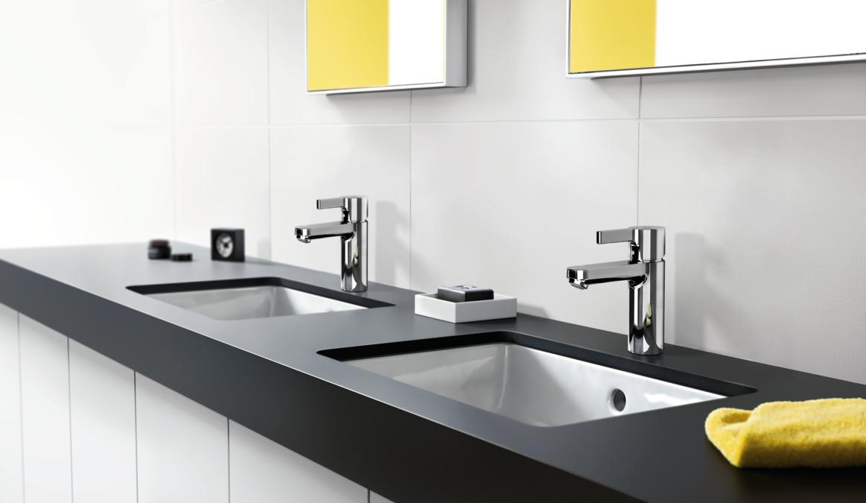 Metris S Washbasin mixers: Chrome, 31060000