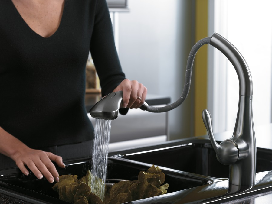 hansgrohe Kitchen faucets: Allegro E, Allegro E 2-Spray SemiArc ...
