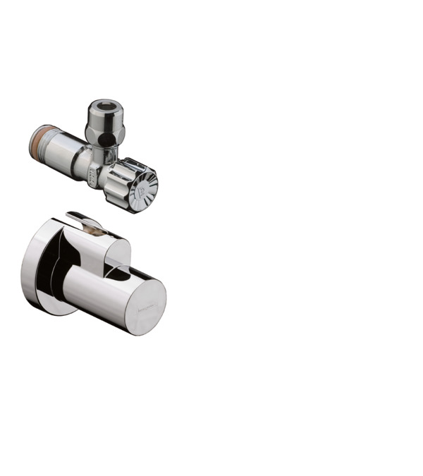 Stainless Steel Double Outlet Angle Valve Kitchen Bathroom Accessories Q