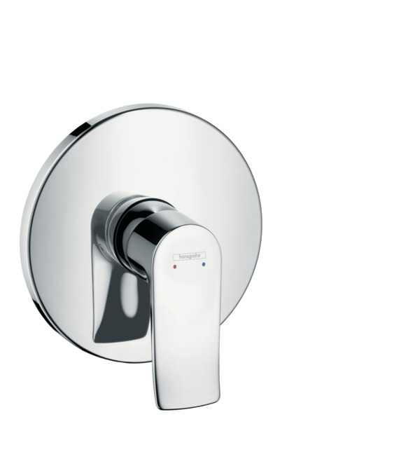 Metris Shower Mixers Designed To Run 1 Outlet Chrome