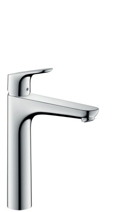 Focus washbasin mixers chrome 31608000 for Mitigeur salle de bain hansgrohe