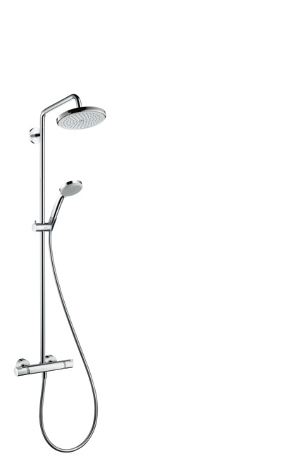 Beautiful Showerpipe 220 1jet With Thermostat