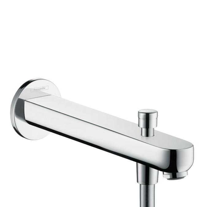Hansgrohe Bath Fillers Metris S Bath Spout 22 8 Cm With