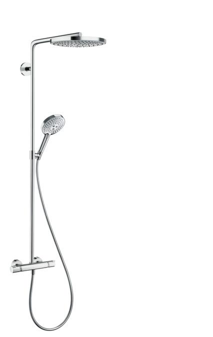 hansgrohe showerpipes raindance select s 2 strahlarten 27129000. Black Bedroom Furniture Sets. Home Design Ideas