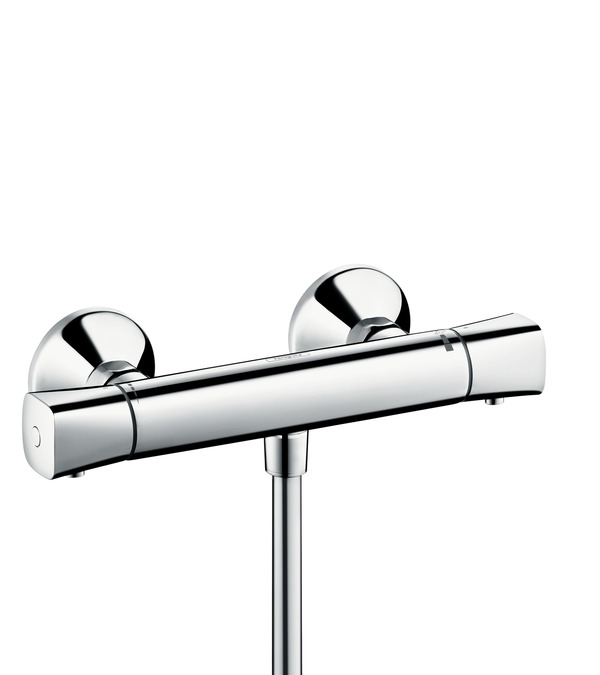 ecostat shower mixers two handle 1 outlet chrome 13122000. Black Bedroom Furniture Sets. Home Design Ideas