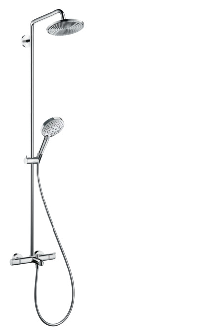 hansgrohe shower pipes raindance s 1 spray mode 27117000. Black Bedroom Furniture Sets. Home Design Ideas