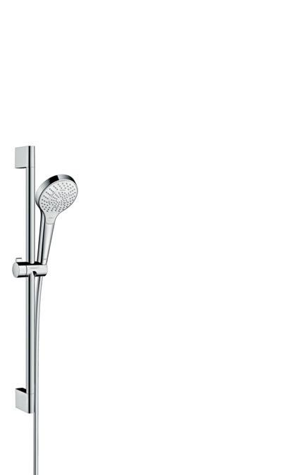 hansgrohe shower sets croma select s shower set multi with shower bar 65 cm 26560400. Black Bedroom Furniture Sets. Home Design Ideas