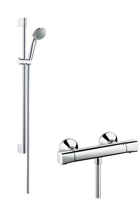 hansgrohe shower sets crometta 85 shower system vario. Black Bedroom Furniture Sets. Home Design Ideas