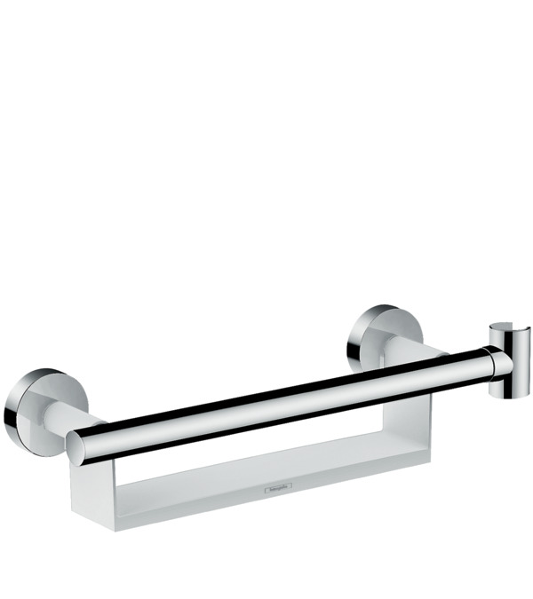 Moen Grab Bar With Corner Shelf