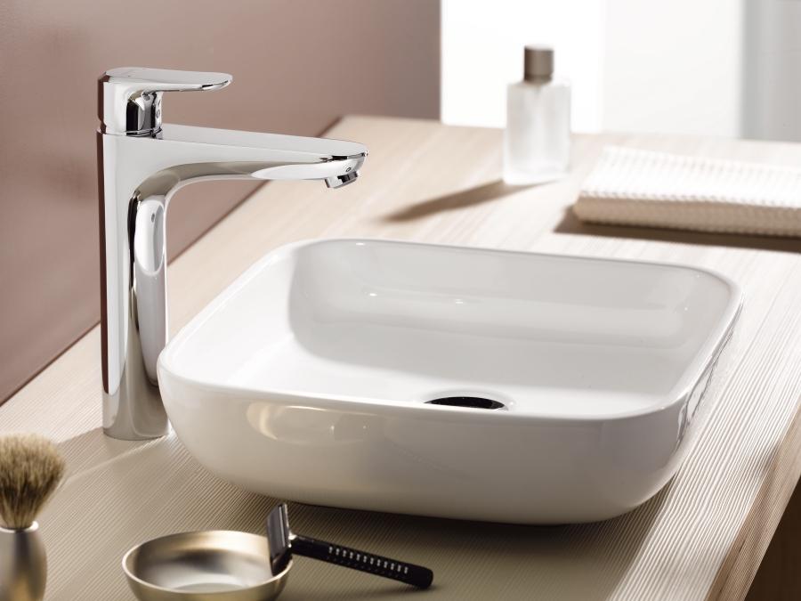 Ecos Washbasin mixers: Chrome, 14083000