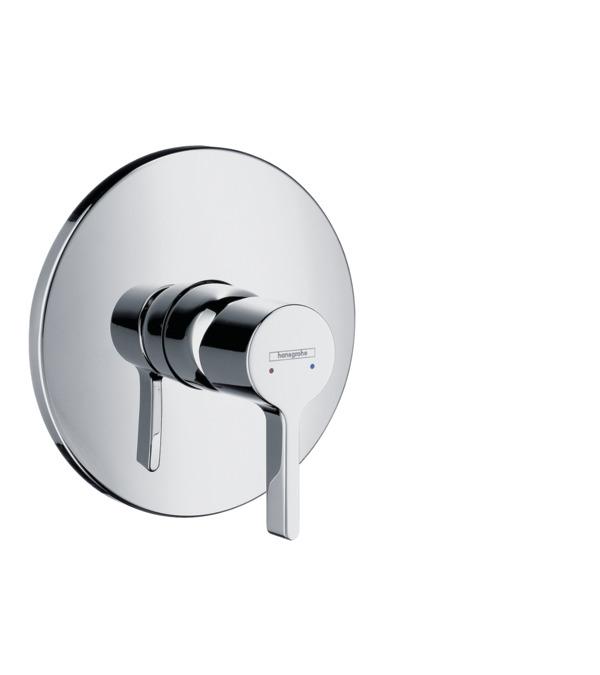 Metris S Shower mixers: 1 outlet, Chrome, 31665000