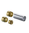 Extension set 25 mm for single lever basin mixer wall-mounted