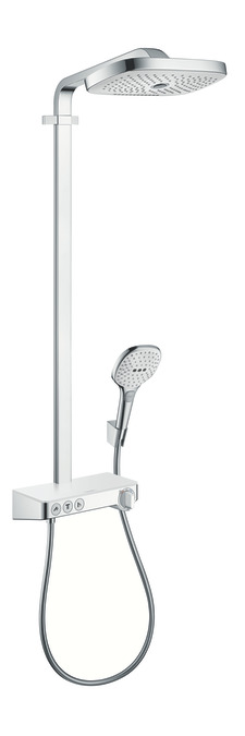 hansgrohe showerpipes raindance select e 3 types de jet 27127400. Black Bedroom Furniture Sets. Home Design Ideas