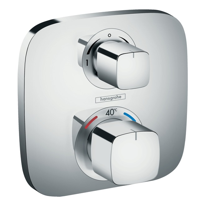 Ecostat select shower mixers: two-handle, 1 outlet, chrome, 13161000.