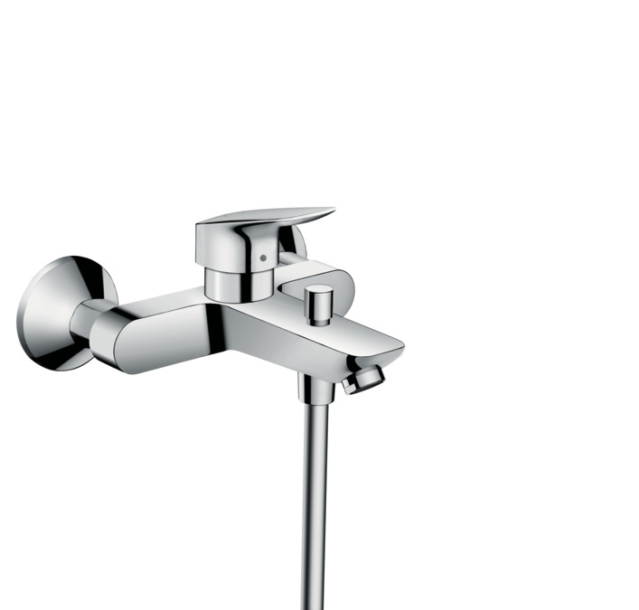 hansgrohe Logis: Logis, Single lever bath mixer for exposed
