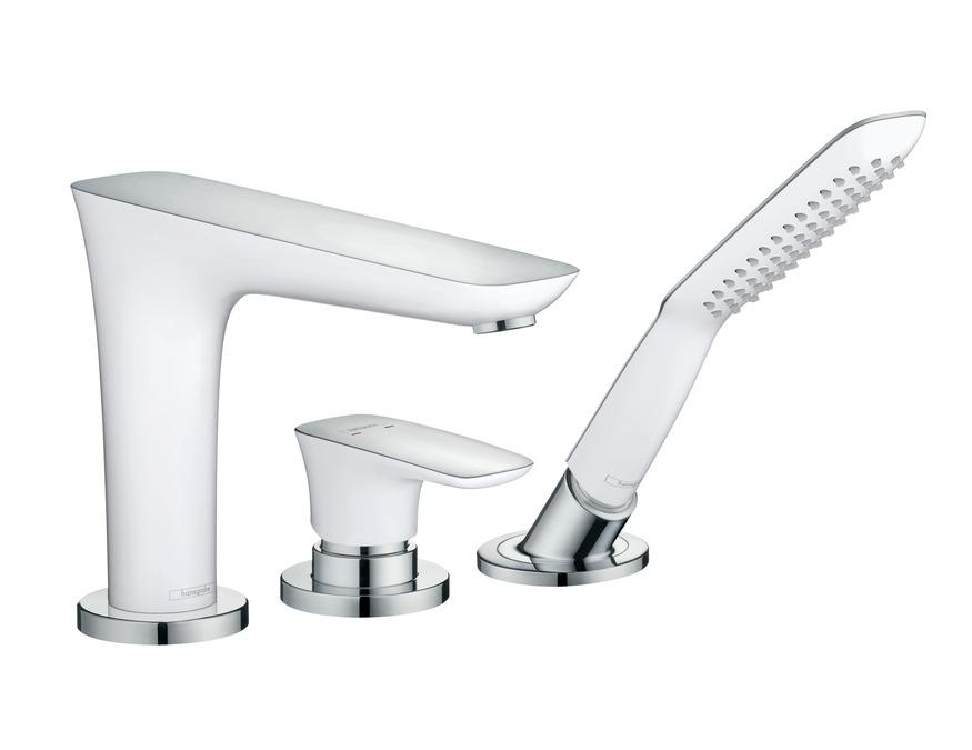 PuraVida Bath mixers: 2 outlets, chrome, 15432000