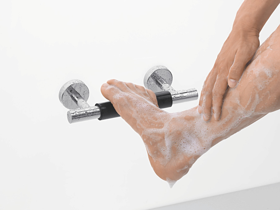 hansgrohe Shower support: Unica, Foot support Comfort, 26329000
