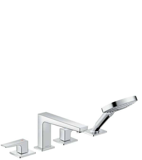 metropol wannenarmaturen 2 verbraucher chrom 32552000. Black Bedroom Furniture Sets. Home Design Ideas