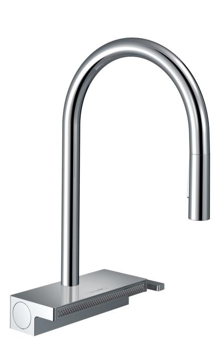 Hansgrohe 13893000 ducha extra/íble para grifo monomando de cocina Allegroh cromo