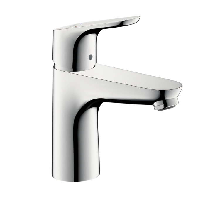 Focus Washbasin faucets: single lever, chrome, 04371000