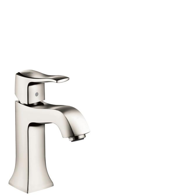 metris c washbasin faucets single lever polished nickel art no 31075831. Black Bedroom Furniture Sets. Home Design Ideas
