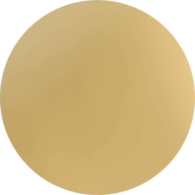 polished gold optic