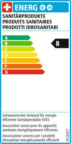 EnergieEtikette B - 2011
