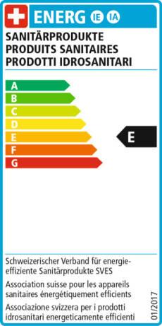 EnergieEtikette E - 2011