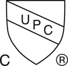 cUPC® Listed - 2019