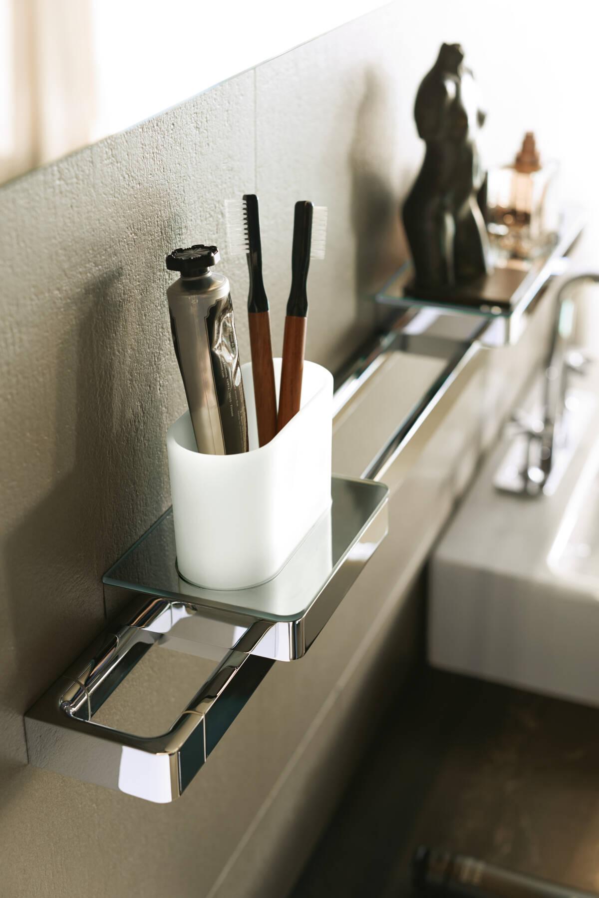 AXOR AXOR Universal Accessories, Rail / Bath towel holder 600 mm ...