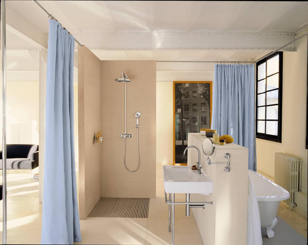 axor axor montreux rasierspiegel 42090000. Black Bedroom Furniture Sets. Home Design Ideas