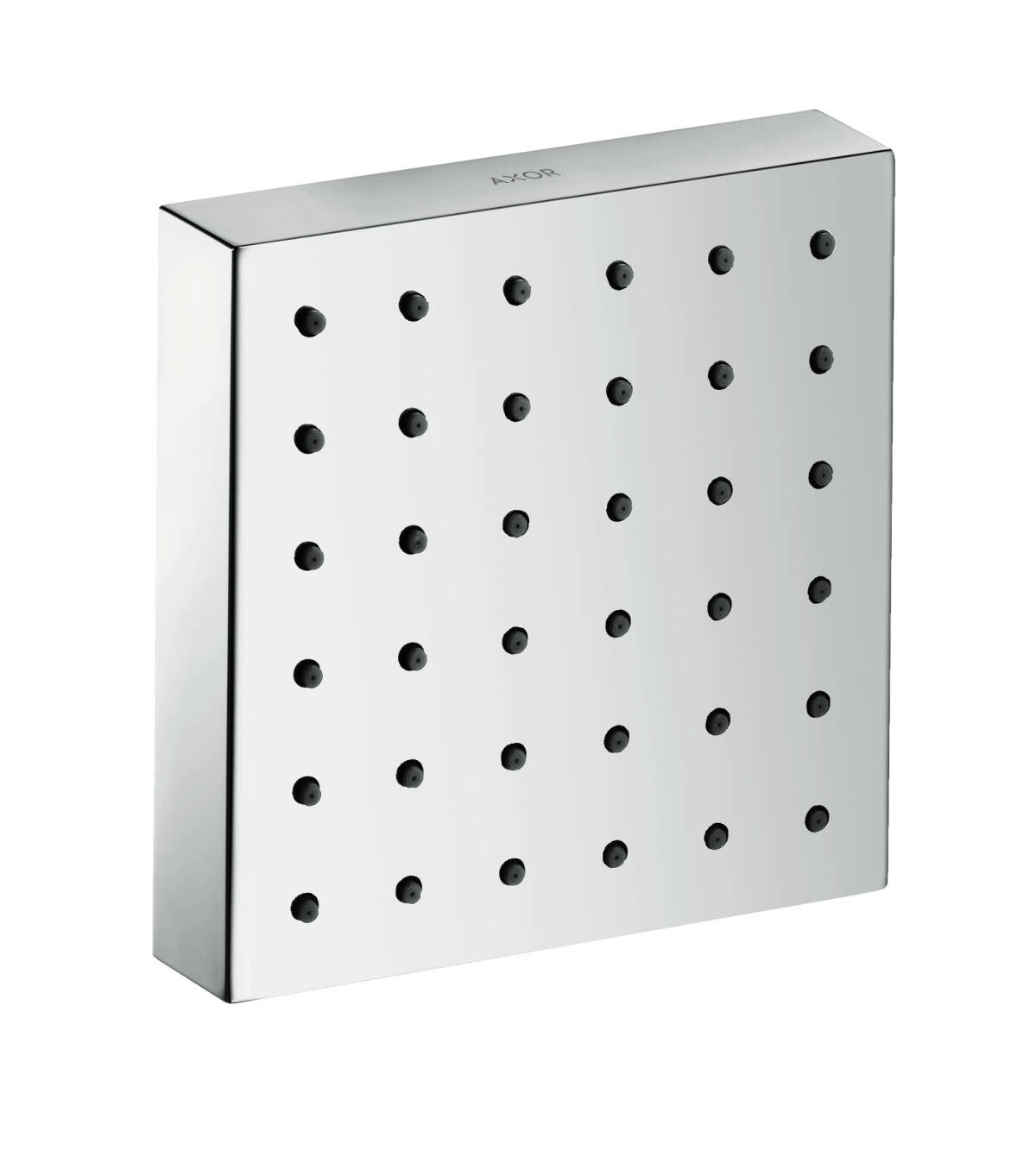 Shower module 120/120 Square for concealed installation, Chrome, 28491000