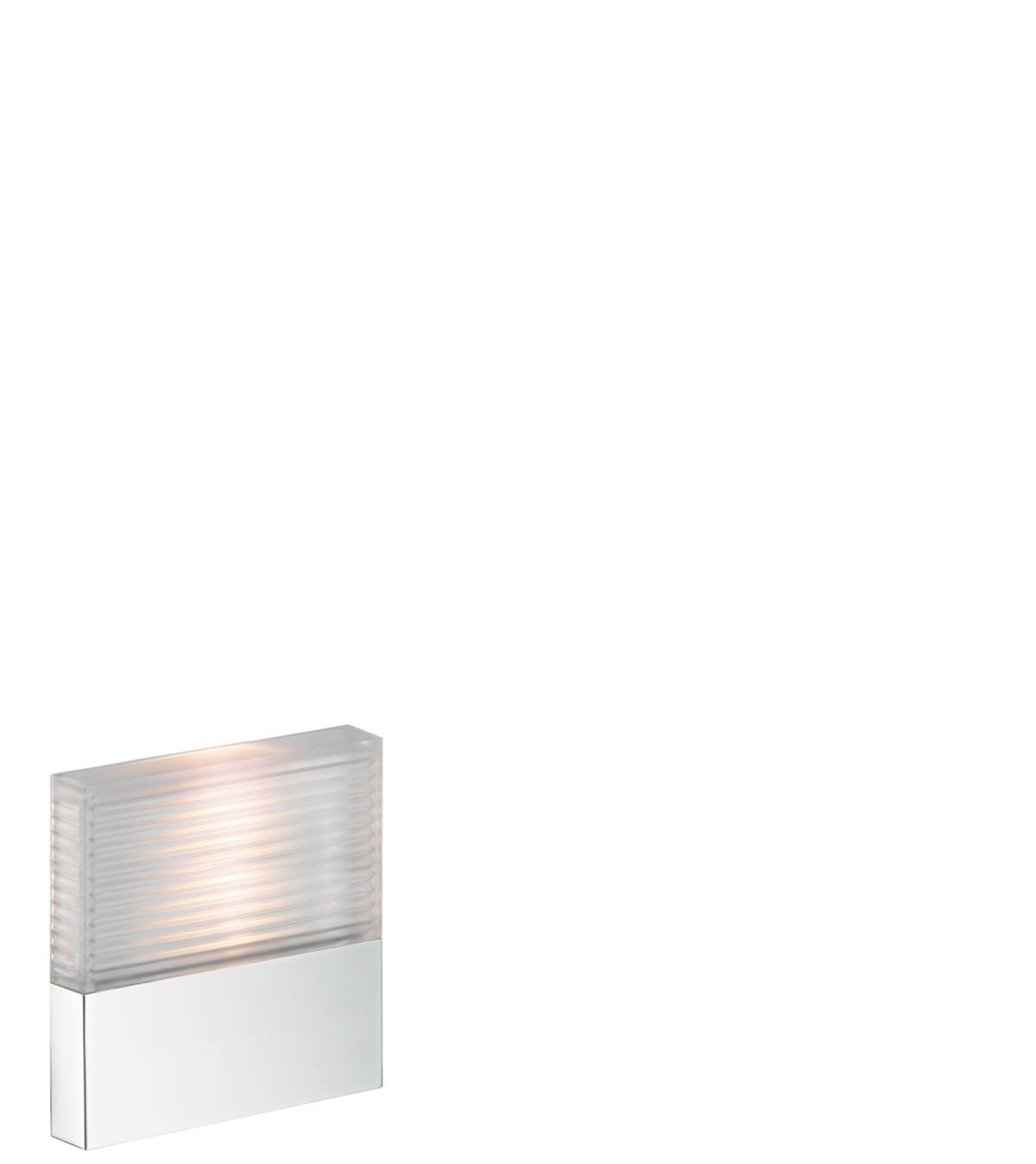 Lighting module 120/120 for concealed installation, Chrome, 40871000