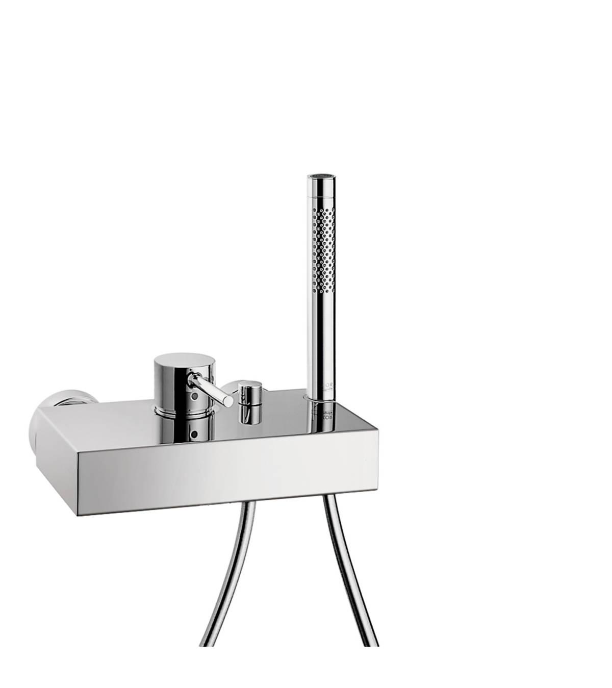 Mezclador monomando de bañera visto, cromo, 10402000