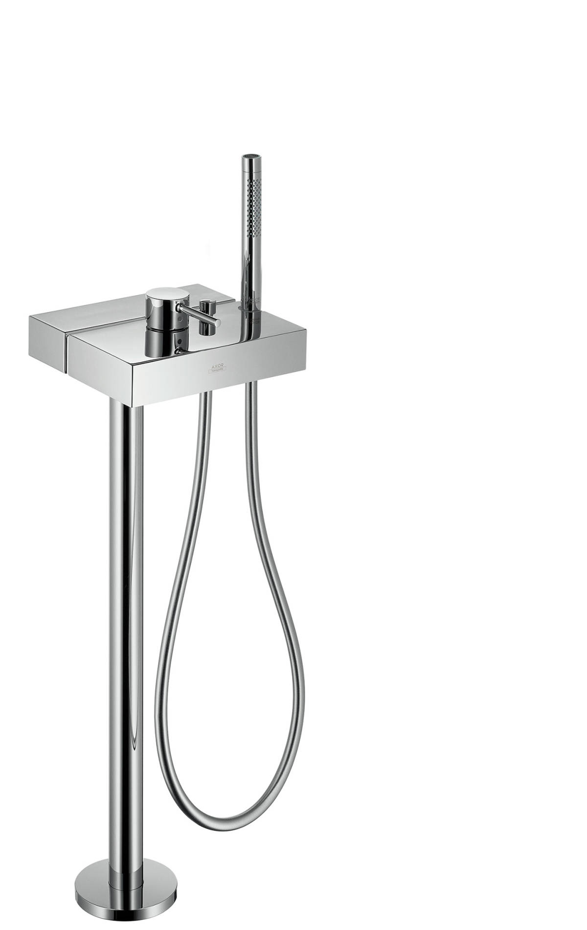 Single lever bath mixer floor-standing, Chrome, 10406000