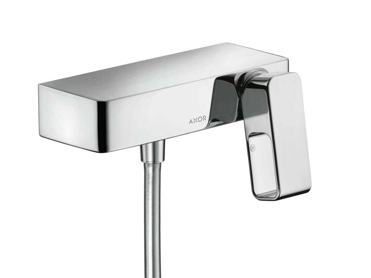 Single lever shower mixer for exposed installation, Chrome, 11620000