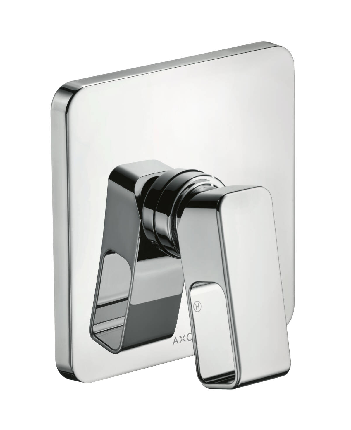 Single lever shower mixer for concealed installation, Stainless Steel Optic, 11625800