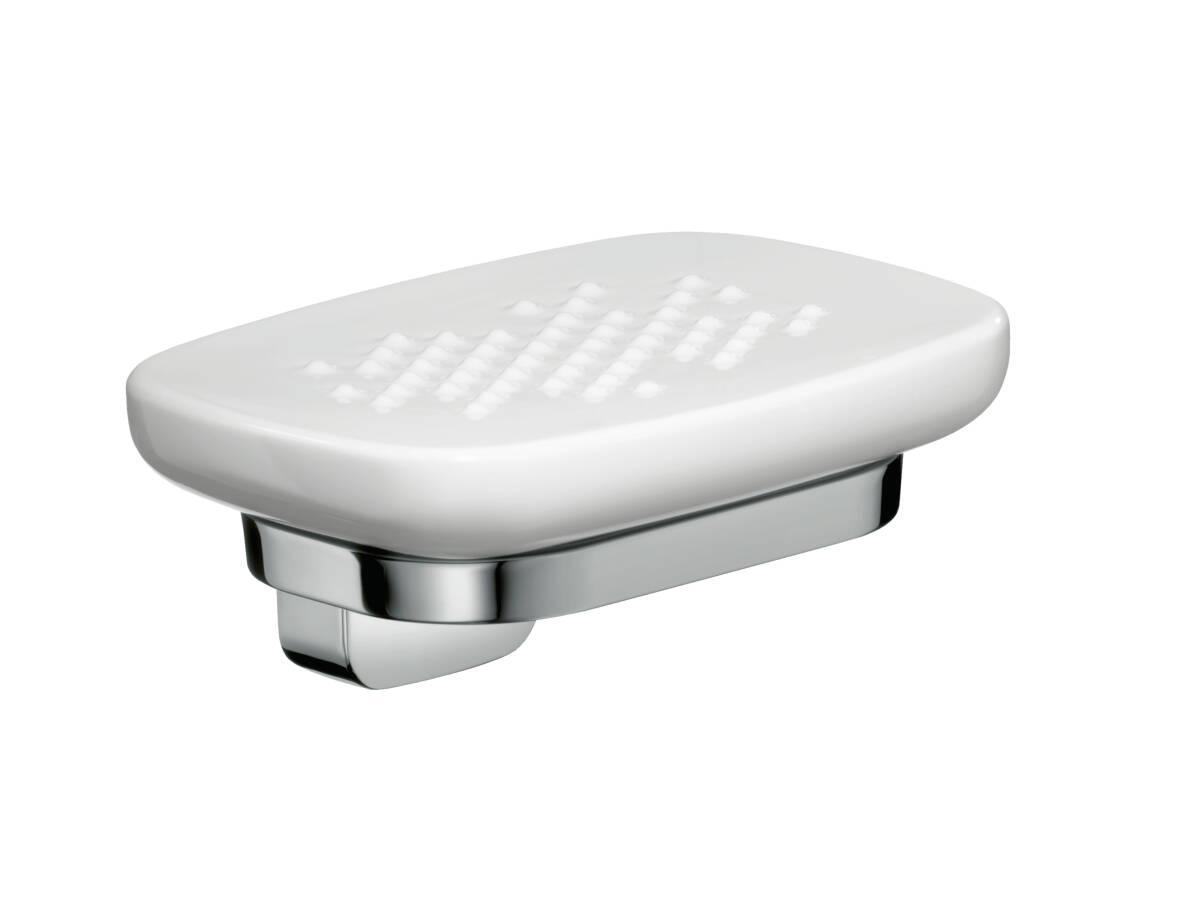 Soap dish, Chrome, 42433000