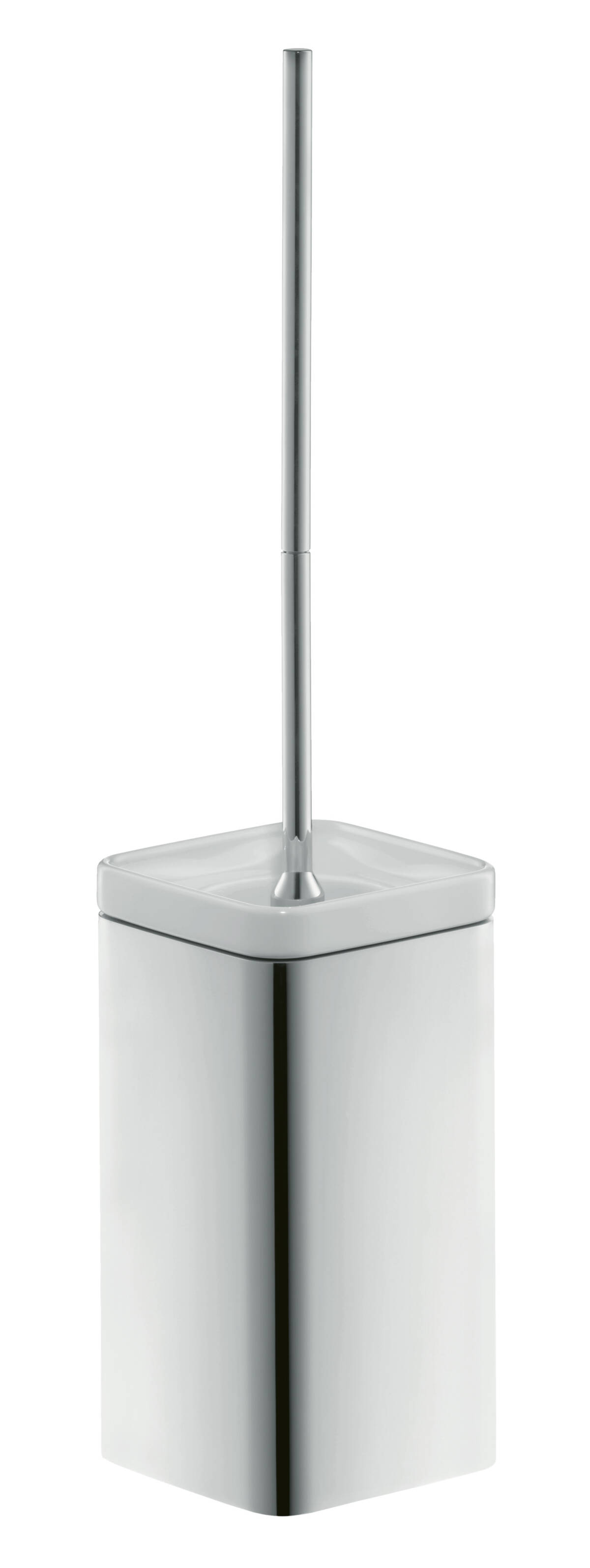 Toilet brush holder wall-mounted, Chrome, 42435000