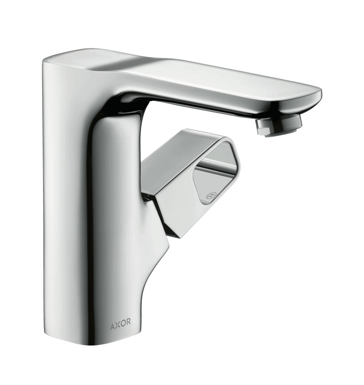 Single lever basin mixer 130 with waste set, Brushed Chrome, 11021260