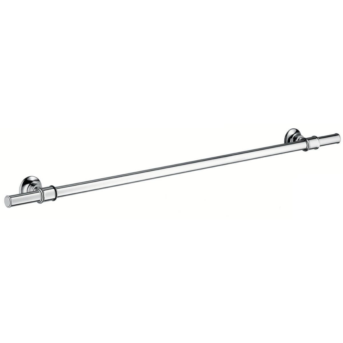 Bath towel rail 800 mm, Brushed Nickel, 42080820