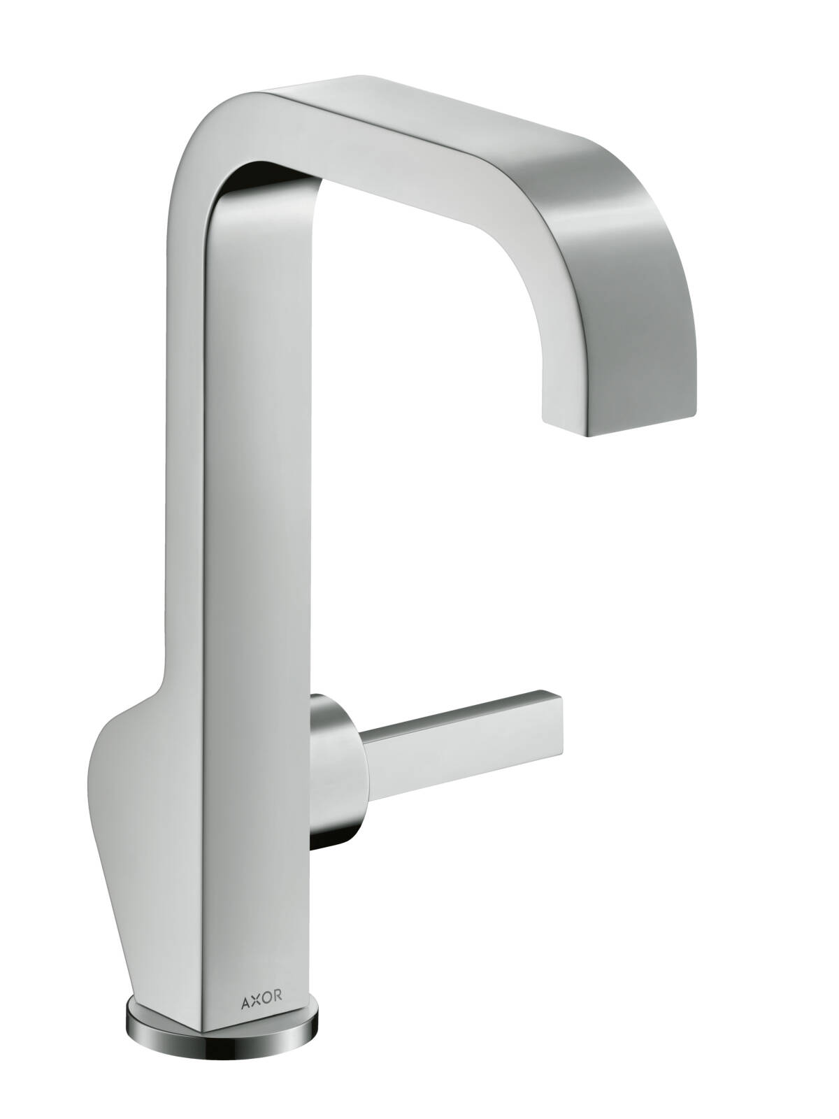 Single lever basin mixer 190 with pin handle and waste set, Chrome, 39037000